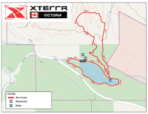 XTERRA Victoria run course